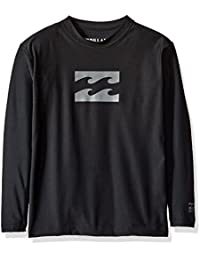Billabong Big Boys' All Day Wave Loose Fit Long Sleeve...