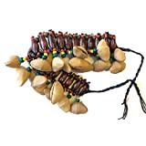 Fair Trade Amazonian Shaman Calabash Foot/Leg Rattle made from Tapar Tree Nuts