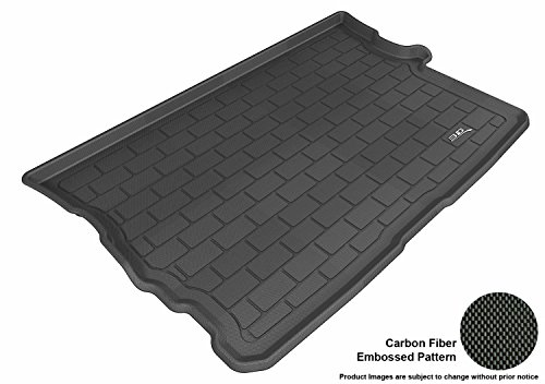 3D MAXpider Cargo Custom Fit Floor Mat for Select Scion XB Models - Kagu Rubber (Black)