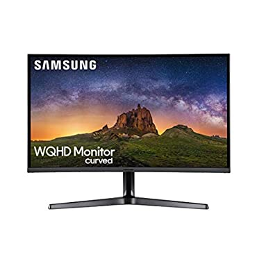 Samsung LC32JG50QQNZA Series Curved 32 Gaming Monitor Dark Blue Grey