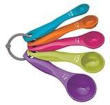 Kitchen Craft Colourworks 5 Piece Measuring Spoon Set