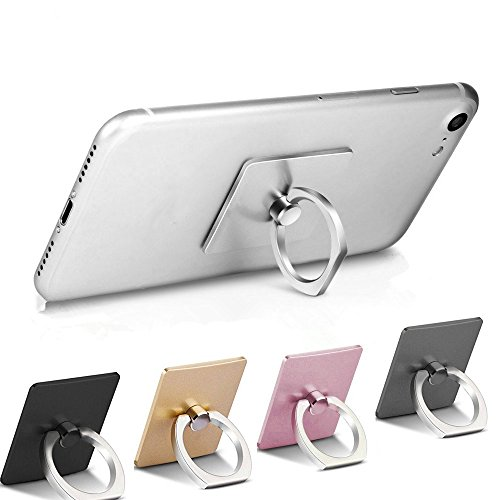 Adventurers Square Cell Phone Ring Holder,Universal Smart Ph