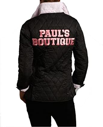 Womens Pauls Boutique Lightweight Quilted Jacket Black B1 (10 ... : pauls boutique quilted jacket - Adamdwight.com