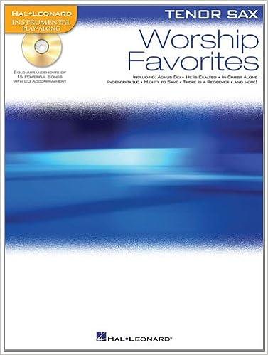 Worship Favorites: Instrumental Play-Along for Tenor Sax (Hal