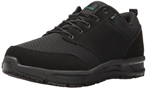 Emeril Lagasse Men's Quarter Mesh  Slip-Resistant Shoe, Black, 10 W US