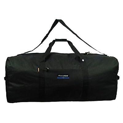 Heavy Duty Cargo Duffel Large Sport Gear Equipment Travel Bag Rooftop Rack Bag