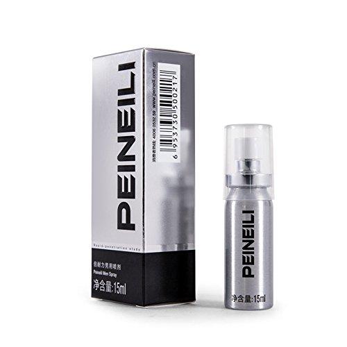 PEINEILI esterilización de desensibilización para hombres Spray demora la eyaculación prematura prolongar sexo con Vit E 15 ml.