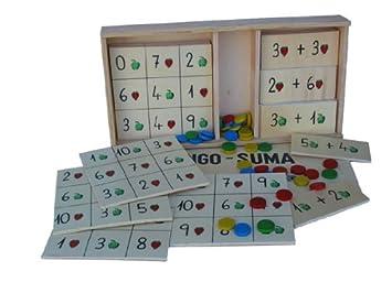 Suma esJuguetes De Bingo Y Juegos MaderaAmazon QoCrdBWExe