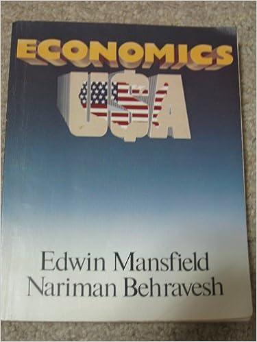 Book Mansfield Economics USA