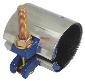 Repair Clamp, Pipe Size, 6 In, 12 In L: Amazon com