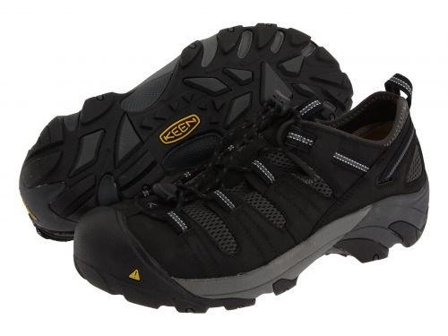 Keen Utility(キーン) メンズ 男性用 シューズ 靴 スニーカー 運動靴 Atlanta Cool Black/Dark Shadow [並行輸入品] B07BMFL35D 11.5 EE Wide