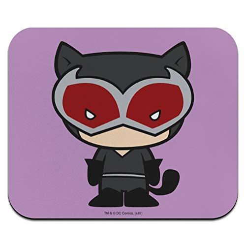 Batman Catwoman Cute Chibi Character Low Profile Thin Mouse Pad Mousepad