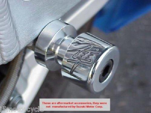 Arm Hayabusa Swing (i5 CHROME SWINGARM SPOOLS for Suzuki Hayabusa 1999-2018)