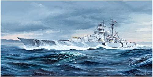TRP05358 1:350 Trumpeter German Battleship Bismarck [Model Building KIT]