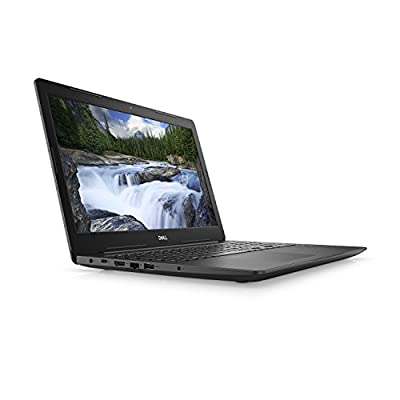 "Dell Latitude 3590 W0JKY Laptop (Windows 10 Pro, Intel i5-8250U, 15.6"" LCD Screen, Storage: 256 GB, RAM: 8 GB) Black"