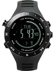 [LAD WEATHER] German sensor Altimeter Barometer Digital Compass Weather Forecast Thermometer Multifunction Watches