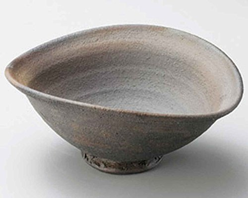Tanka Oval 9.8inch Large Bowl Brown Ceramic Made in Japan by Watou.asia