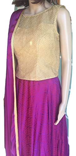 Wedding/Festival Wear Purple Lehenga & Dupatta with Purple Choli