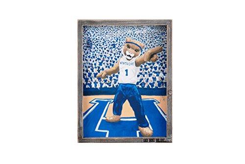 Glory Haus Univ Kentucky Scratch Framed Canvas Collegiate Wall Art, Multi
