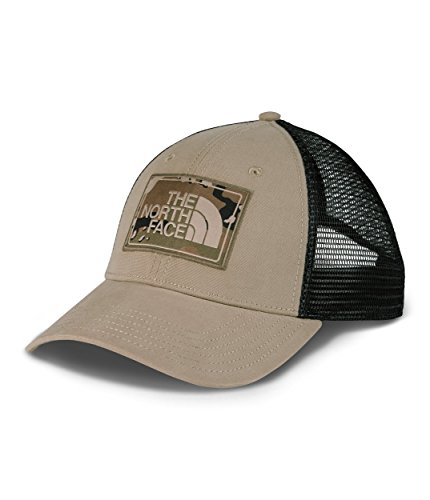 - The North Face Unisex Mudder Trucker Hat Dune Beige/Burnt Olive Green Camo One Size