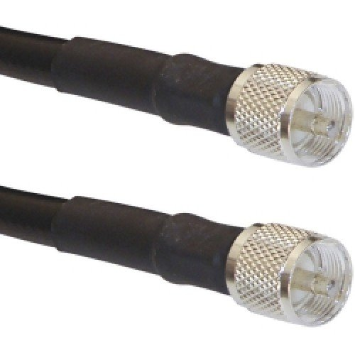 - LMR-400-UHF-12 Times Microwave LMR-400 Coaxial Ham/CB Radio Jumper Antenna Extension Cable VHF UHF Ultra Low Loss LMR400 PL-259 Jumper 12 ft