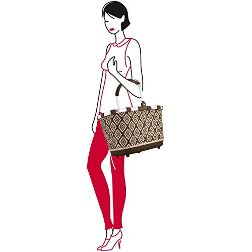 Millefleurs Bag Red amp; BL6038 Tote Beach Canvas Multicolour Reisenthel SOaIqHXn