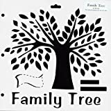 "CRAFTERS WORKSHOP Templates 12""X12""-Family Tree"