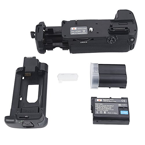 DSTE Replacement for Pro MB-D11 Vertical Battery Grip + 2X EN-EL15 Compatible Nikon D7000 SLR Digital Camera (Nikon D7000 Battery Grip)