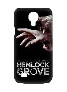 Custom Hemlock Grove Poster Evil Wolf Black Design For Case Ipod Touch 4 Cover Case (3D) Hard Durable Cover