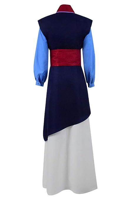 Amazon.com: Xiao Maomi Mulan - Disfraz de princesa china ...