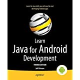 Learn Java for Android Development: Java 8 and Android 5 Edition
