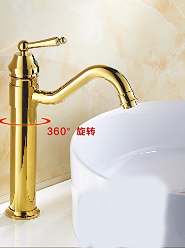 H Hlluya Professional Sink Mixer Tap Kitchen Faucet The copper, antique sepia, hot and cold, washbasin, bidet, on a cold and can be redated, single handle single hole sink faucet,