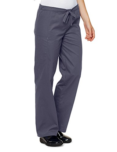 Lydia's Select Unisex Drawstring Pant, Steel Grey, Medium