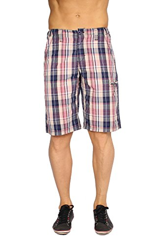 Pepe Jeans Men's Bermuda Shorts Coulman - Red, W28 (Pepe Shorts Jeans)