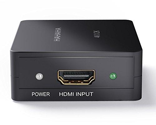 HDMI Splitter 1 in 2 out Box for 4K 2K Full HD 1080P 3D