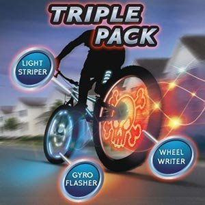 Meon 876724 Light Up Bikee FX Triple Pack