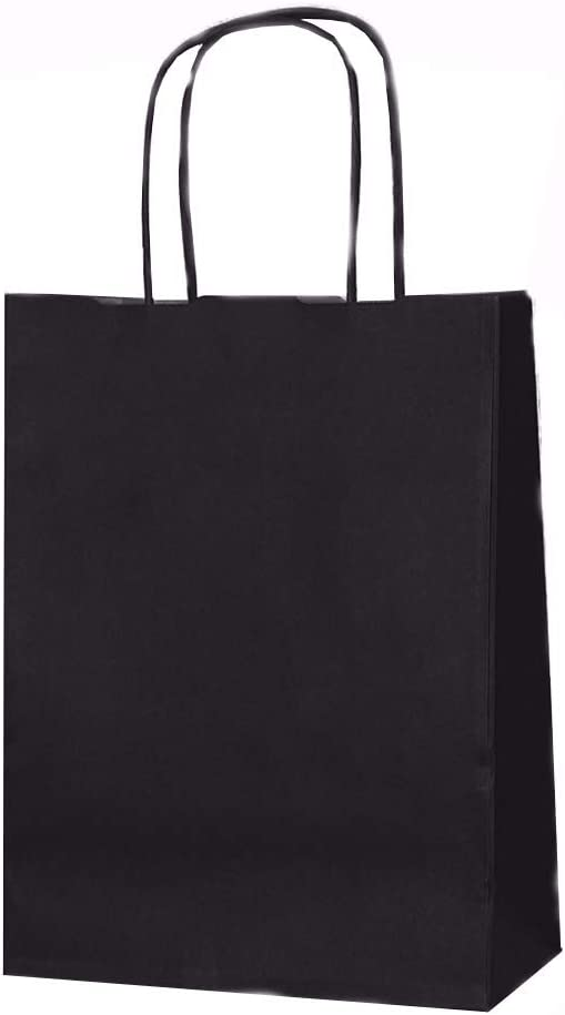 32 x 41 x 12 cm Size Brown Paper Party Gift Bags Take Away Twisted Handles