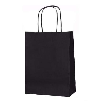 Bolsas de papel para regalo, tamaño mediano, 41 cm x 32 cm x 12