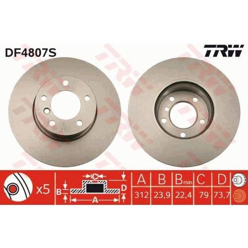 TRW Automotive AfterMarket DF4807S Bremsscheibe