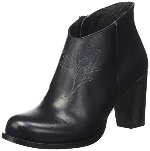 Neosens Gloria 551, Stivali Classici alla Caviglia Donna Nero (Ebony)