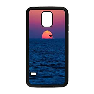 Dolphins Design Pattern Hard Skin Back Case Cover Potector For Samsung Galaxy S5 Case HSL385452