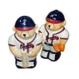 Baseball Salt & Pepper Shaker Set (ATLANTA BRAVES)