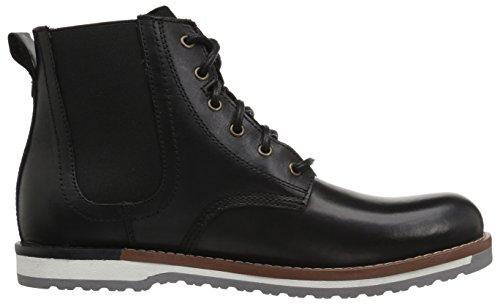 ALDO Mens Garhault Ankle Boot Black Leather SIDXNPUKC