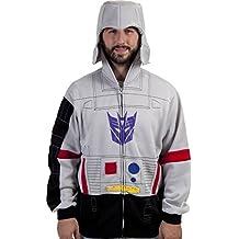 80sTees.com Men's Transformers Megatron Costume Hoodie