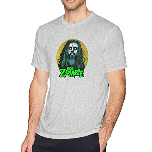 Ethel Electras Rob-Zombie Mens T-Shirt Gray