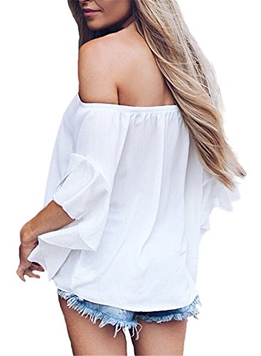 Femme white white FIYOTE FIYOTE Femme Chemisier Solid Solid Chemisier gYxqwpp