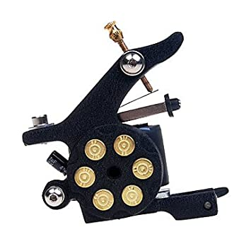 GAG-Máquina de tatuajes @ S 3 Tatuaje Kit con Power LCD , Black ...