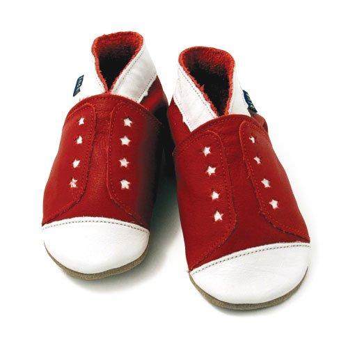 Inch Blue - 1526 XL - Chaussures Bébé Souples - Sneaker - Rouge - T 22-23 cm