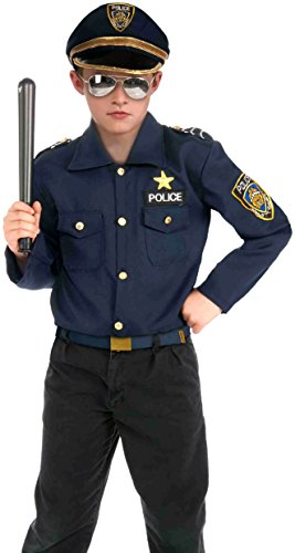 Forum Novelties Instant Police Kit Costume, Small (Dress Up Police Uniform)