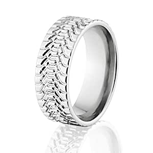 mud tire wedding ring tire ring titanium tire tread ring mud tire rings tire 6066
